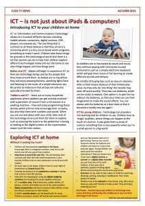 ICT and helping your child at home